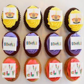 Diwali-Cupcakes