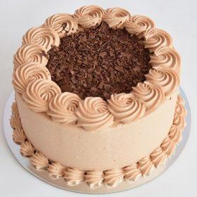 Chocolate Chocolate Round Cake