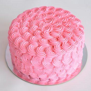 Vanilla Vanilla Round Cake